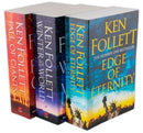 Ken Follett Century Trilogy Collection 3 Books Set Historical Novel