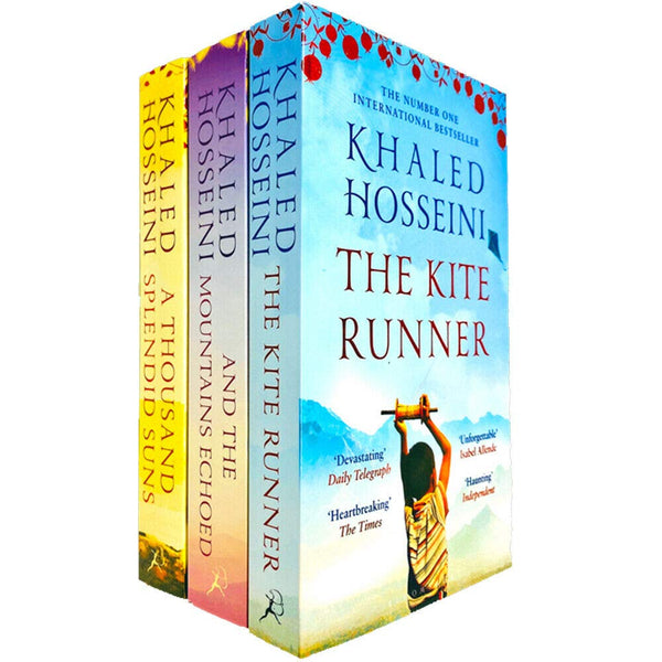 Khaled Hosseini 3 Book Collection Set Inc A Thousand Splendid Suns, Kite Runner