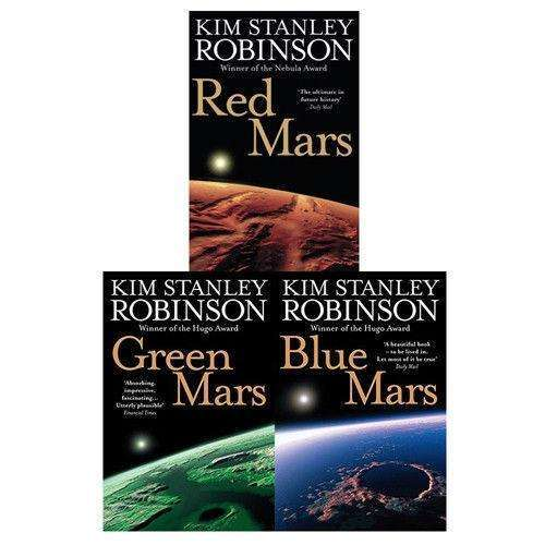 Kim Stanley Robinson Collection 3 Books Set Mars Trilogy Science Fiction