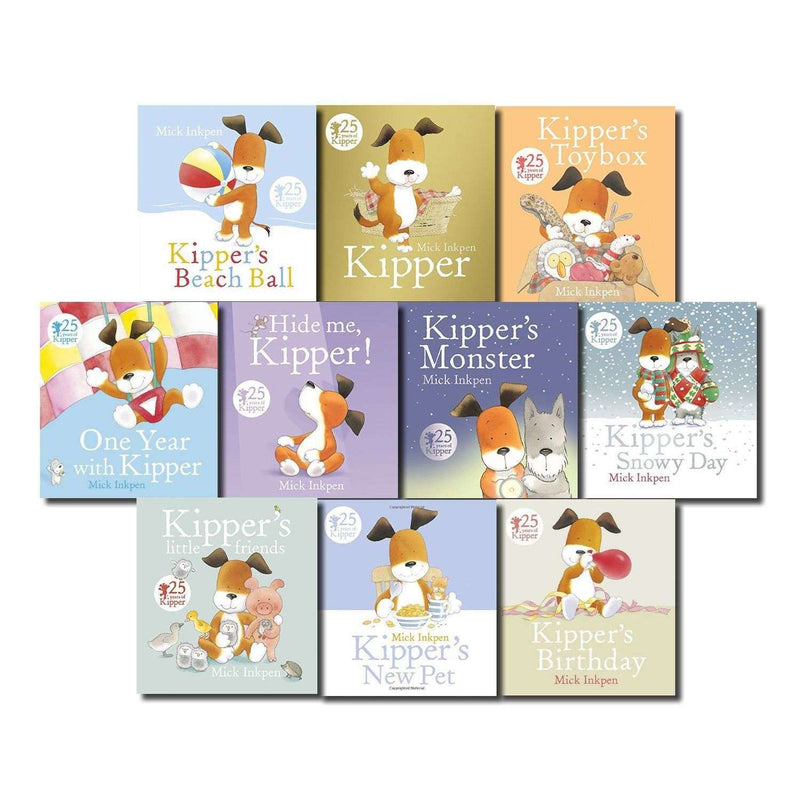 Kipper the Dog Collection 10 Books Set Inc Toy box, Birthday, Snowy Day
