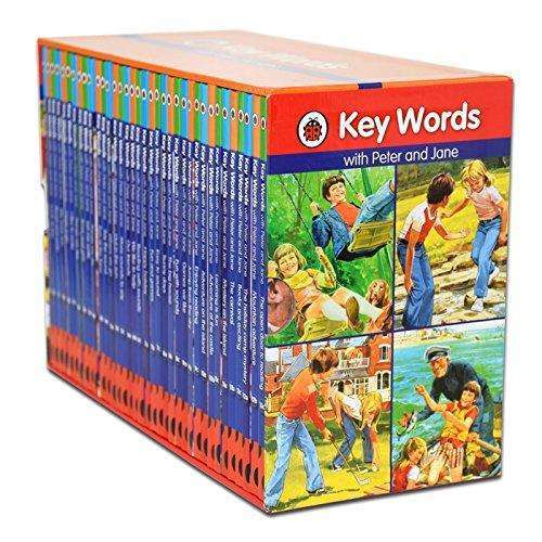 Ladybird Key Words With Peter and Jane 36 Books Set Collection Keywords