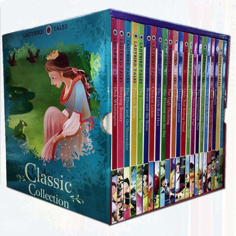 Ladybird Tales Classic Collection 22 Books Box Set