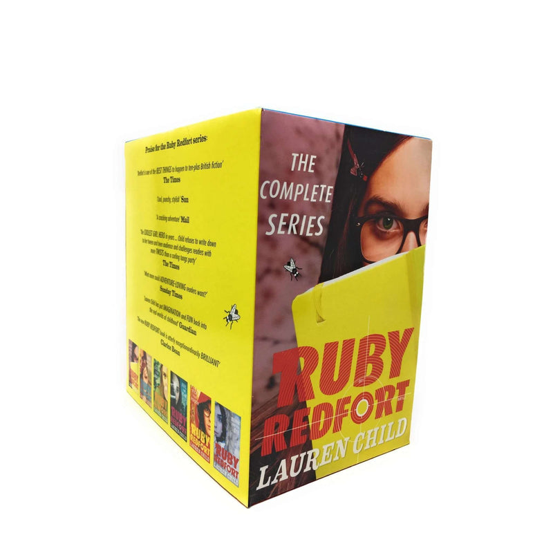 Lauren Child Ruby Redfort Collection 6 Books Set Look into my eye, Feel the Fear