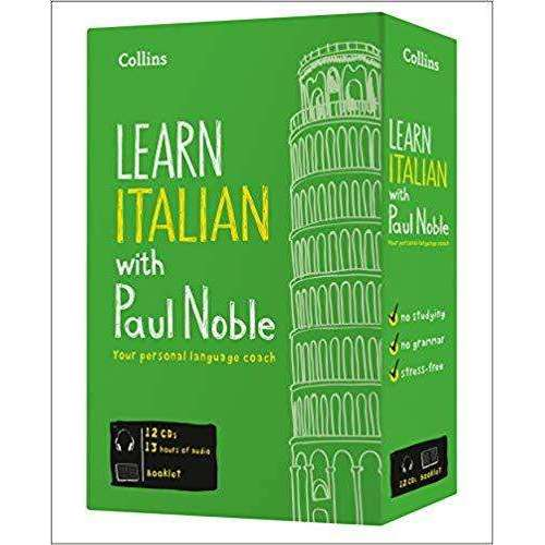 Learn Italian with Paul Noble 12 CDs, Booklet, DVD Collection
