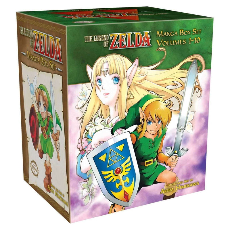 Legend of Zelda Collection 1-10 Books Manga Box Set By Akira Himekawa