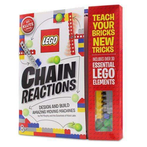 Lego Chain Reactions Activity Book (Klutz) Over 30 Essential Lego Elements!