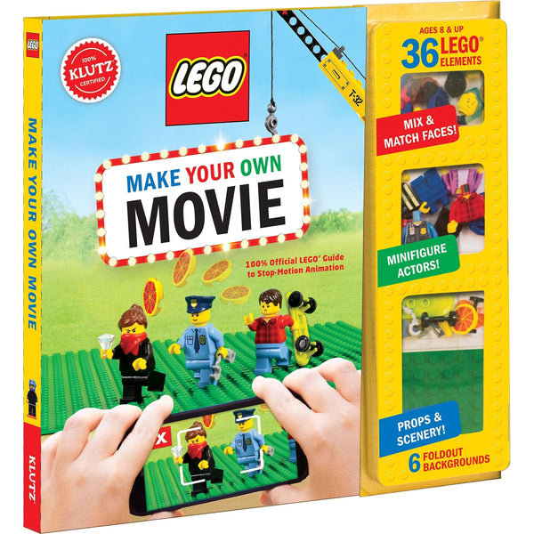 Lego Make Your Own Movie Activity Book (Klutz) 36 Lego Elements Inc