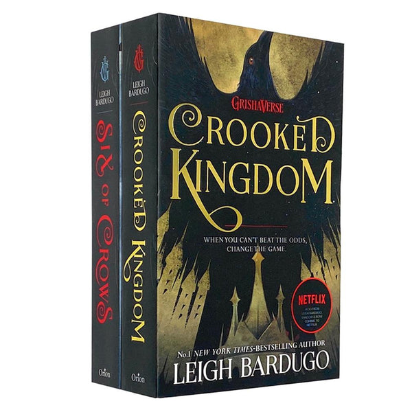 Grishaverse Series 2 Books Young Adult Collection Paperback Set By Leigh Bardugo