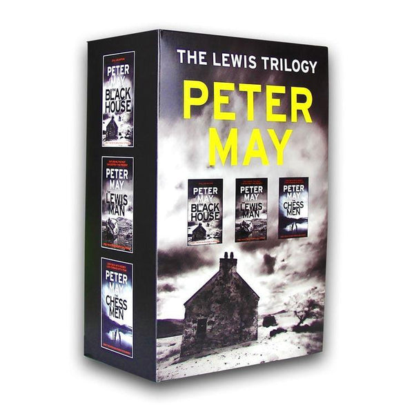 Lewis Trilogy Collection Peter May 3 Books Set (The Lewis Man, The Blackhouse, The Chessmen)