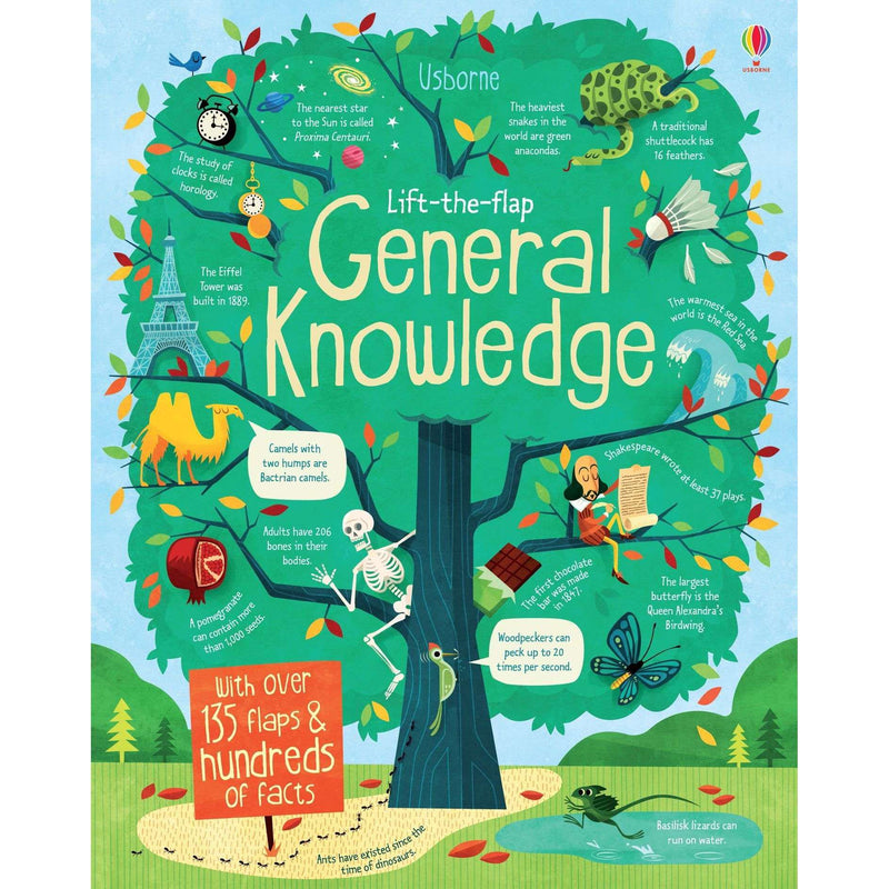 Lift the Flap General Knowledge Book By Alex Frith James Maclaine