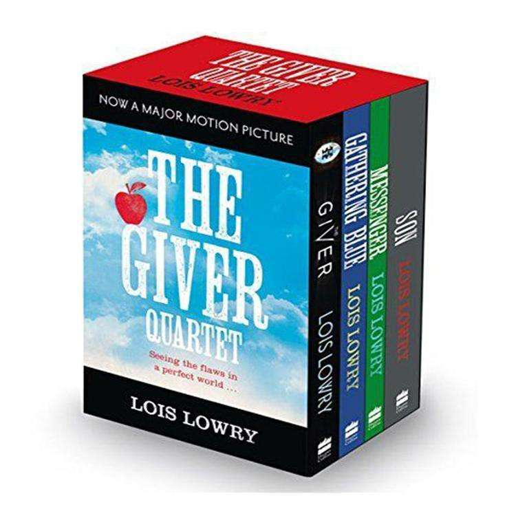 Lois Lowry Modern Classic Collection 4 Books Box Set Messenger,Son, Giver
