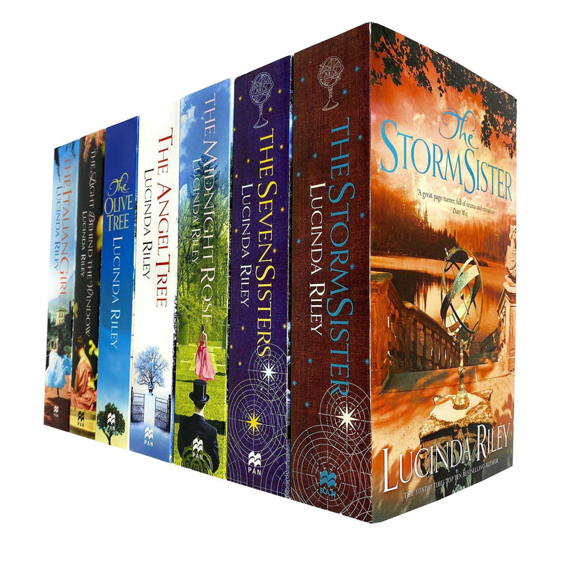 Lucinda Riley 7 Books Collection Set (Storm Sister, Seven Sisters, Midnight Rose..)