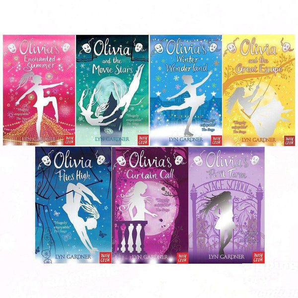 Lyn Gardner Olivia Series 7 Books Collection Set (Olivia's Winter Wonderland)