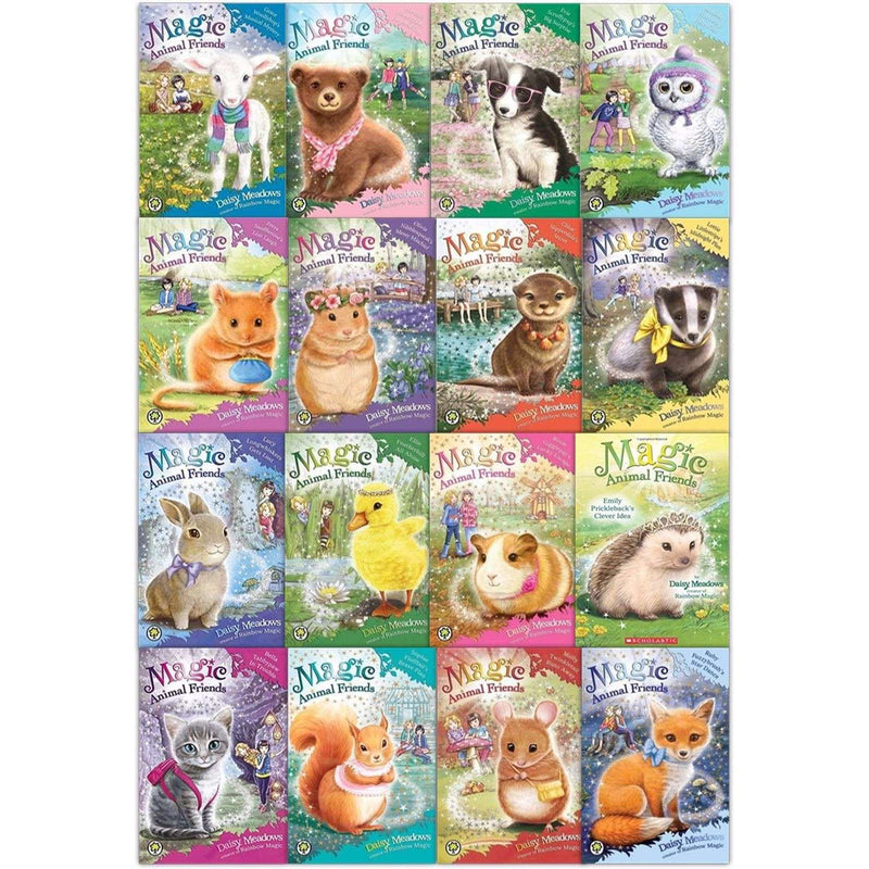 Magic Animal Friends Series Collection Daisy Meadow 16 Books Set Pack (1-16)