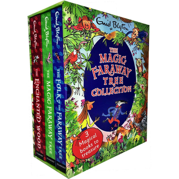 Magic Faraway Tree Deluxe Enid Blyton 3 Books Collection Box Set Pack