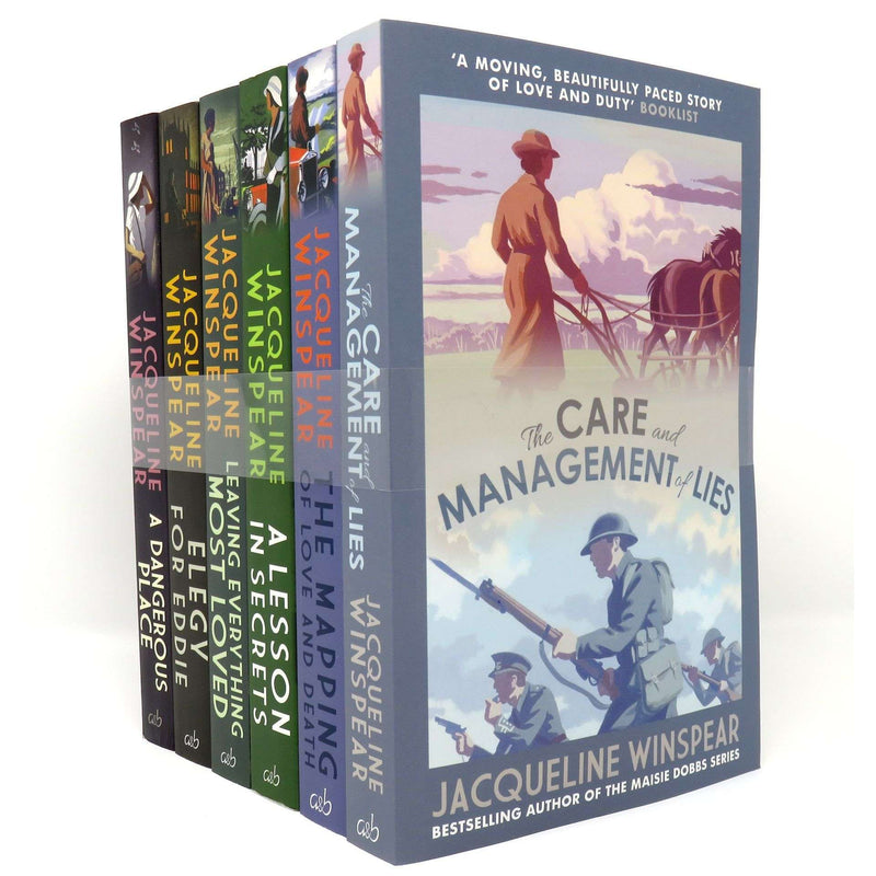 Maisie Dobbs 6 Books Set Collection By Jacqueline Winspear