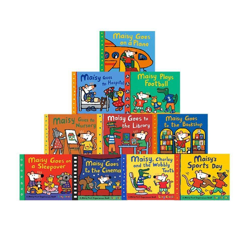Maisy Mouse Collection 10 Books Set Series 2 Lucy Cousins Early Learner Children