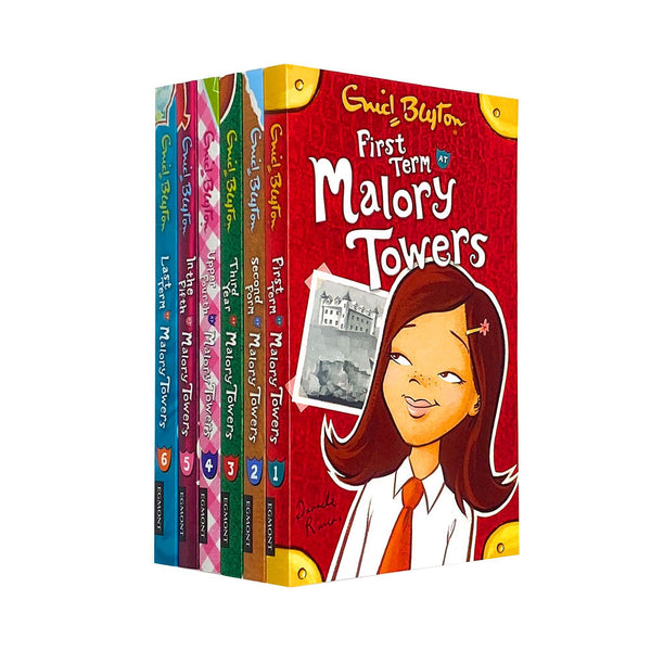 Enid Blyton Malory Towers Series 6 Books Collection Set First term,Third year