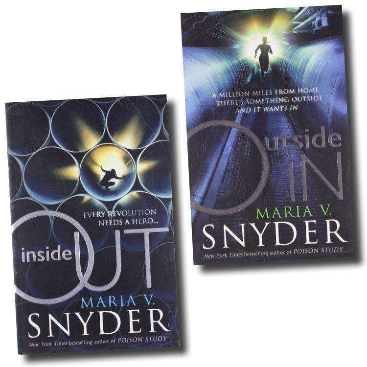 Maria V Snyder 2 Books Collection Pack Set (Inside Out , Outside In)