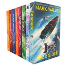 Mark Walden HIVE Collection 8 Books Set H.I.V.E Series - Deadlock, Aftershock