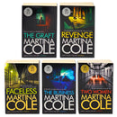 Martina Cole 5 Books Set Collection, The Graft, Revenge, Two Women, The business, Faceless
