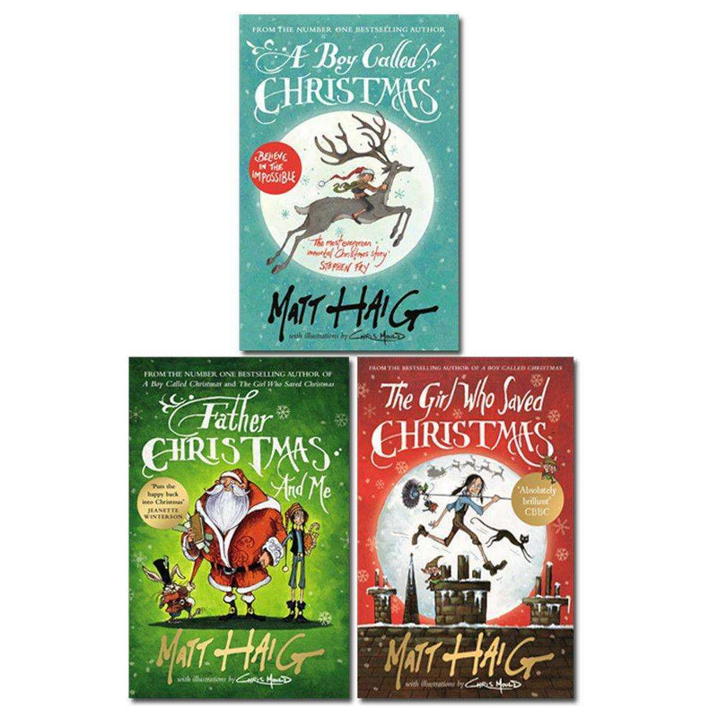 Matt Haig Christmas Collection 3 Books Set Childrens Pack A Boy Called Christmas