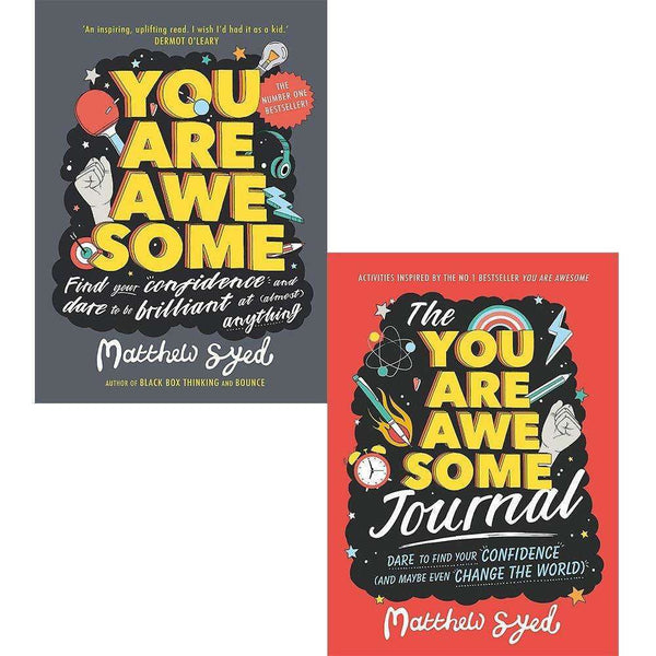 Matthew Syed Collection You Are Awesome and Journal 2 Books Set Paperback