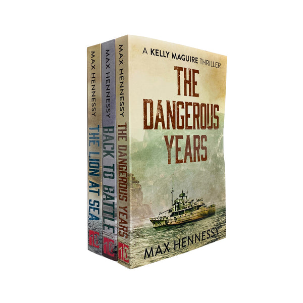 Max Hennessy RAF Trilogy Collection 3 Books Set The Dangerous Years