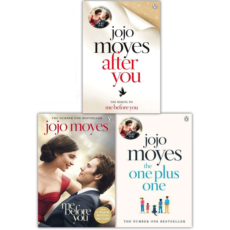 Me Before You Collection 3 Books Set by Jojo Moyes ( Me Before You, After You, The One Plus One)