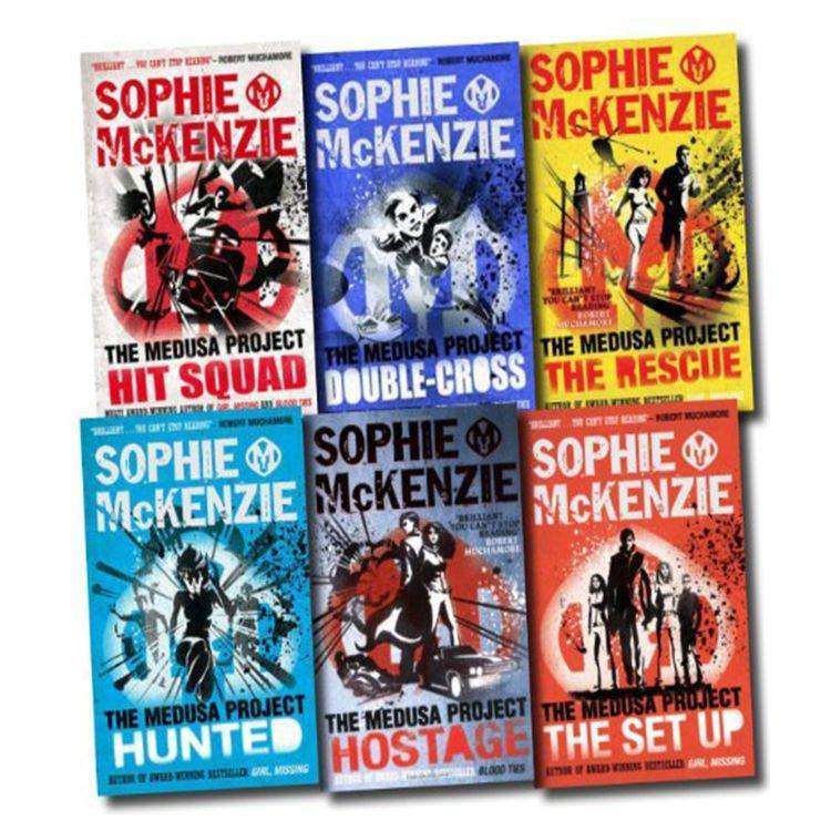 Medusa Project Collection Sophie McKenzie 6 Books Set Double Cross, Hit Squad