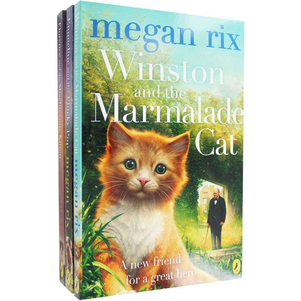 Megan Rix Pets in History 3 Book Collection Set