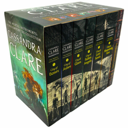 Shadowhunters Series Cassandra Clare 6 Books Collection Box Set Mortal Instrumen