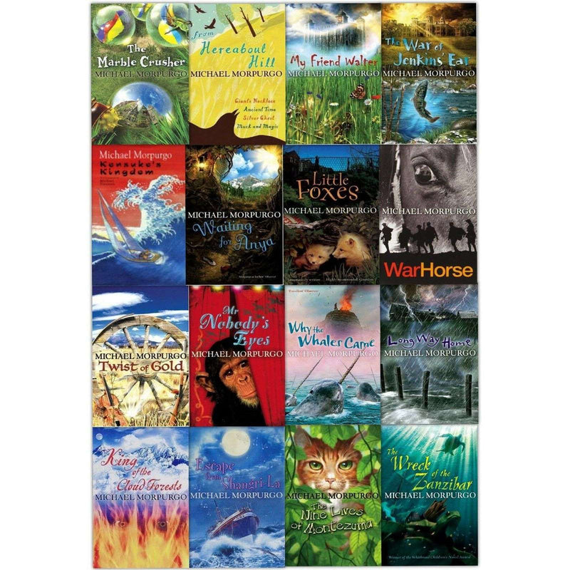 Michael Morpurgo Series Children Collection 16 Books Set Includes War Horse Pack