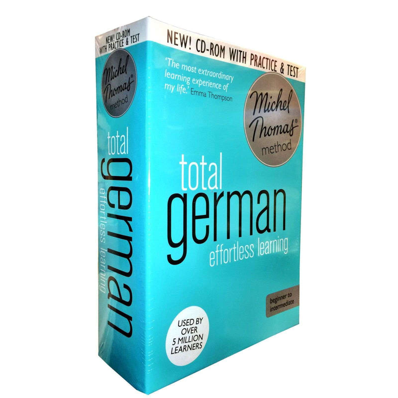 Michel Thomas Method Audio Book Total German for Beginner CD Collection Box Set