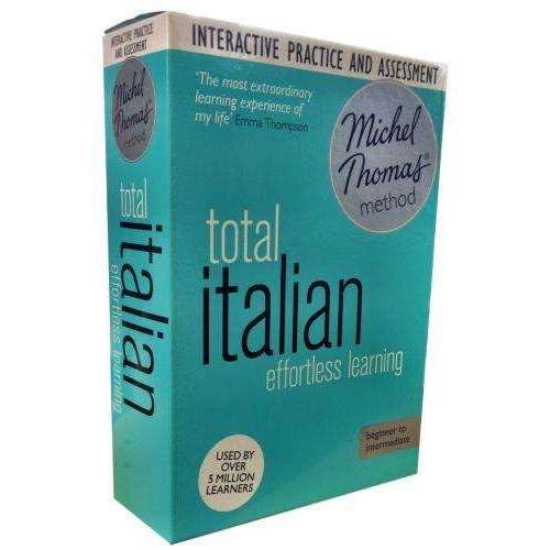 Michel Thomas Method Audio Book Total Italian for Beginner CD Collection Box Set