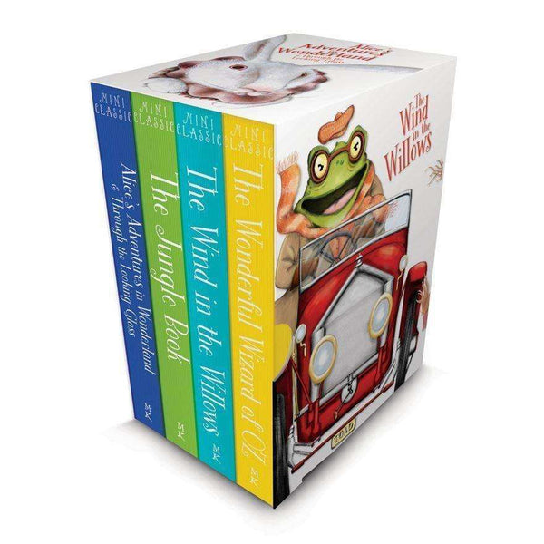 Miles Kelly Children Classics Deluxe 4 Books Box Set Collection Colour  illustrated Inc Jungle book