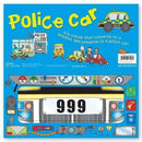 Miles Kelly Convertible Police Car 3 in 1 Book Playmat and Toy for Children