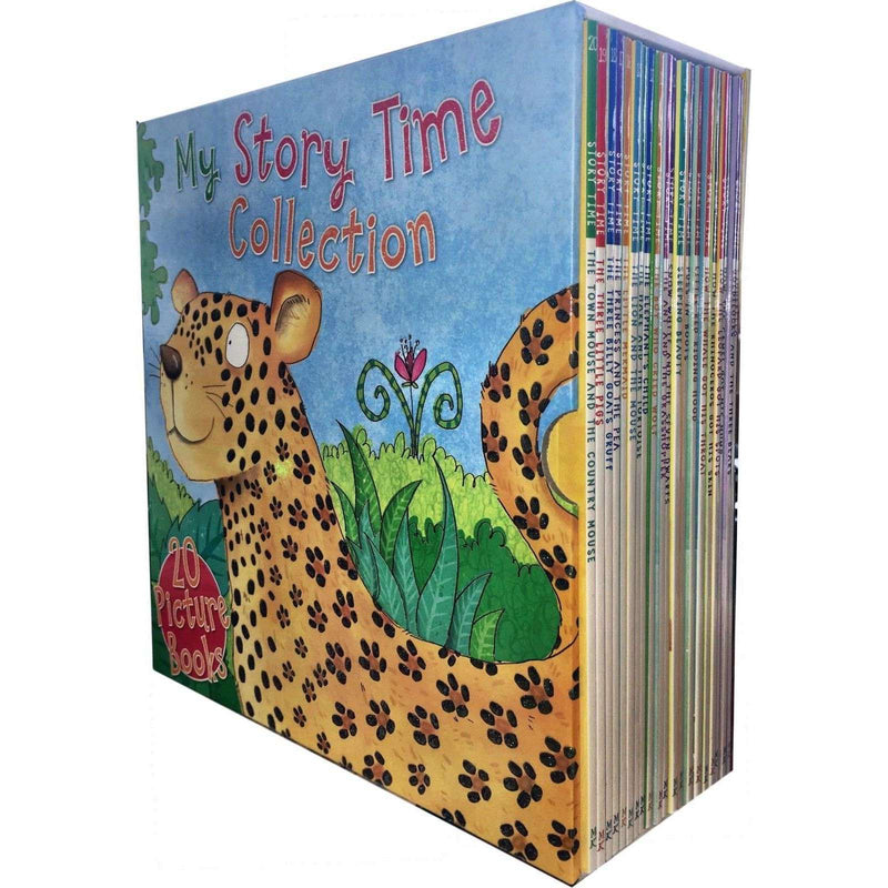 Miles Kelly My Story Time Collection 20 Picture Books Box Set Children Pack