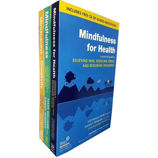 Mindfulness collection 3 Books Set Mindfulness For Creativity- CD Included