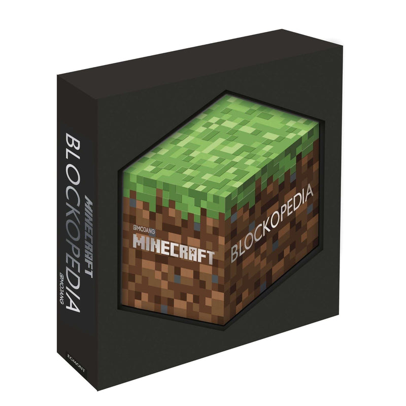 Minecraft Blockopedia Illustrated Book Collection Pack