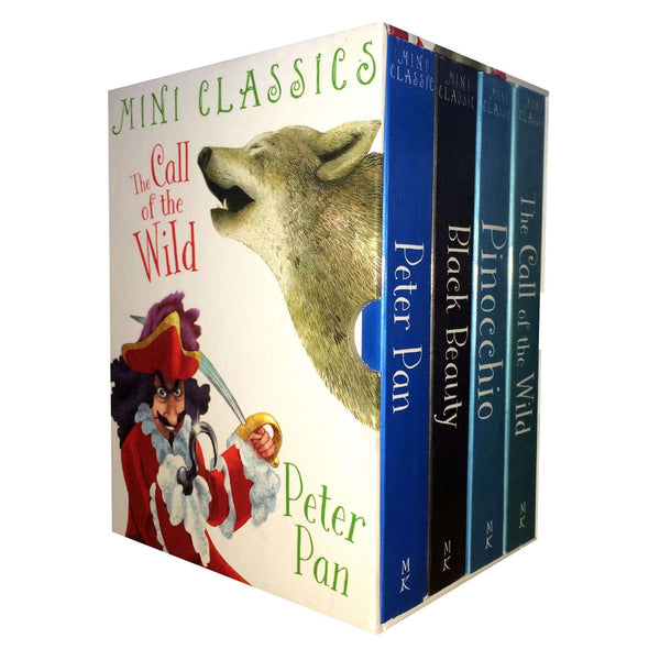 Mini Colour illustrated Classics 4 Books Collection Box Set Peter Pan Black Beauty (Series 1)