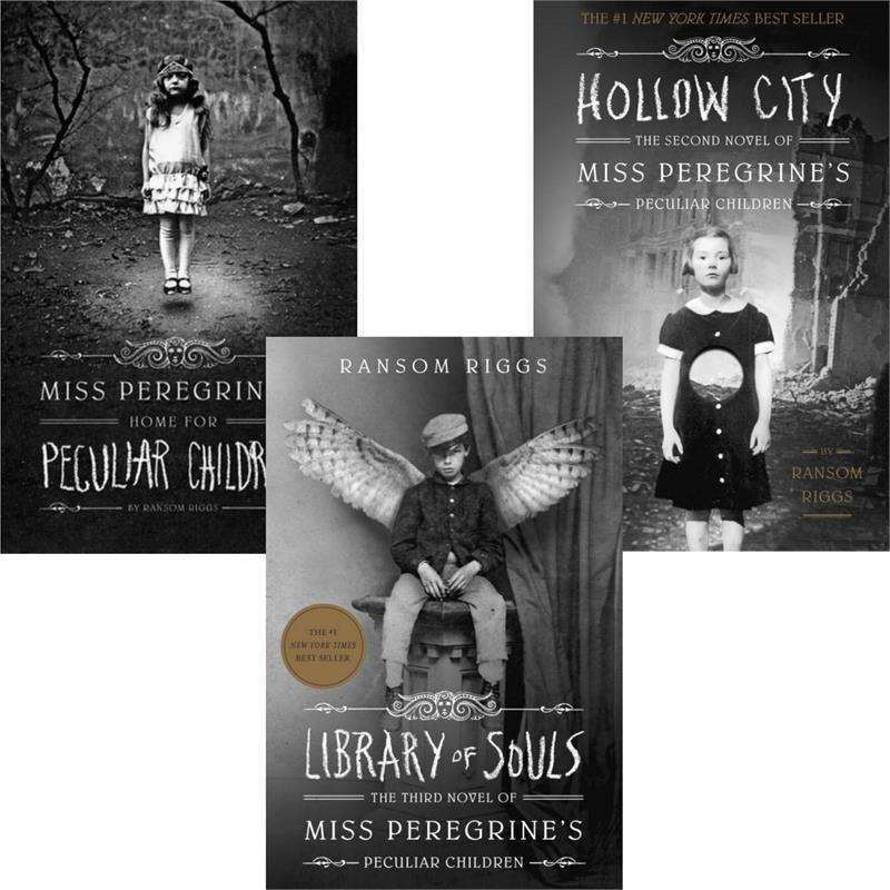 Miss Peregrines Home for Peculiar Children 3 Book Set Collection Ransom Riggs