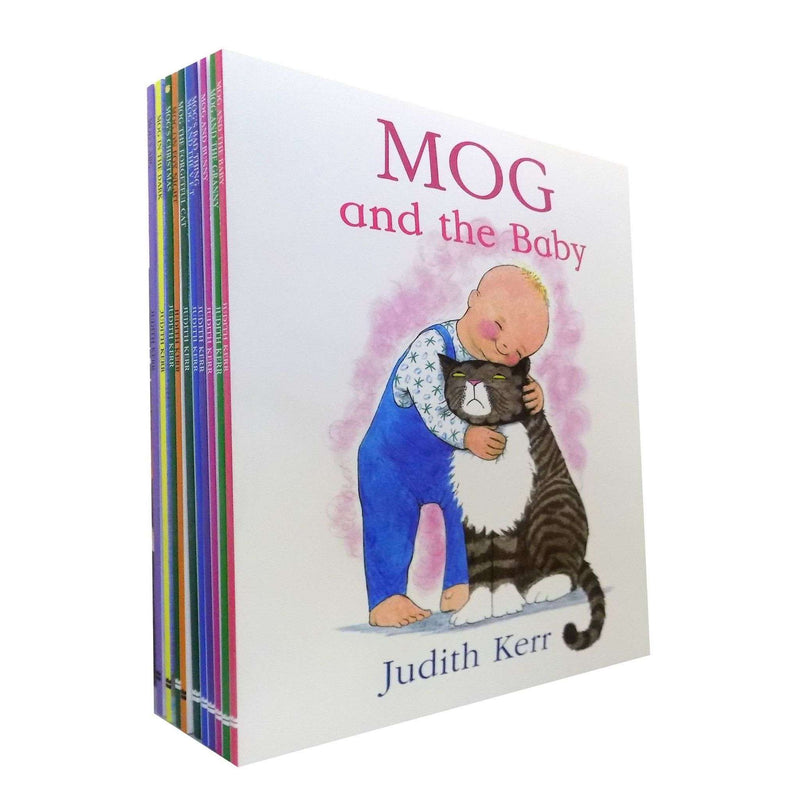 Mog the Cat Collection Judith Kerr 10 Books Set