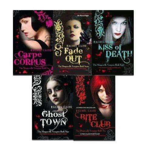 Morganville Vampires  5 Books Collection Set Series 2 (6 - 10) By Rachel Caine