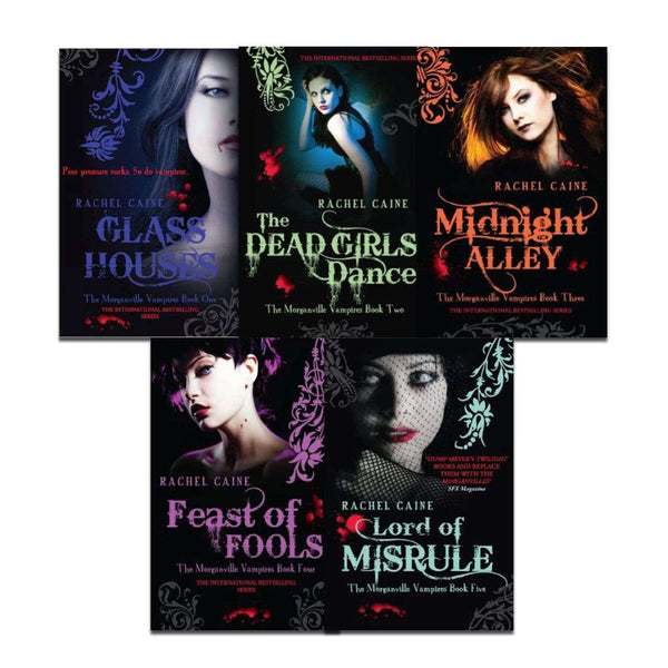 Morganville Vampires Series(1-5) Collection 5 Books Set Pack By Rachel Caine