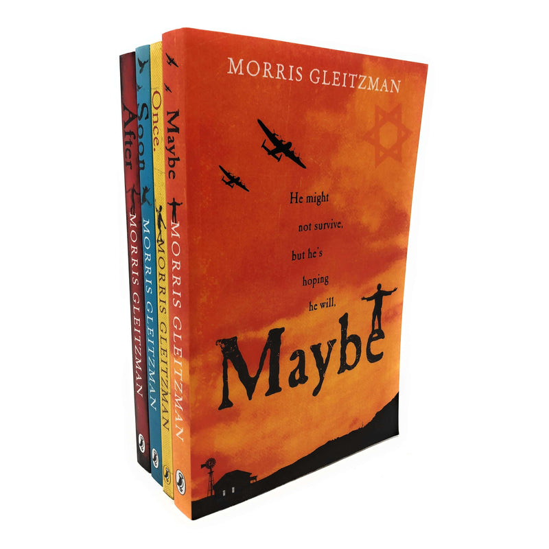 Morris Gleitzman 4 Books Set Collection Inc Soon, Once, Maybe, After