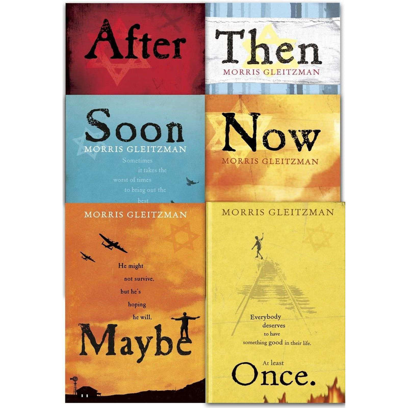 Morris Gleitzman Collection 6 Books Set (Once, Then, Now, After, Soon, Maybe)