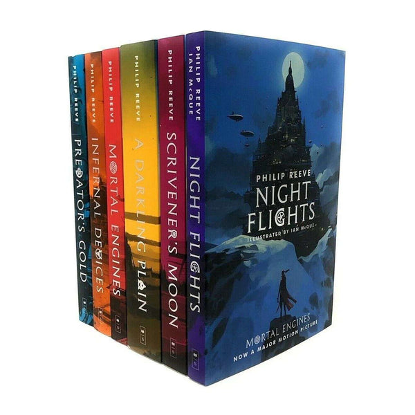 Mortal Engines Collection Philip Reeve 6 Books Set Pack Children Trilogy