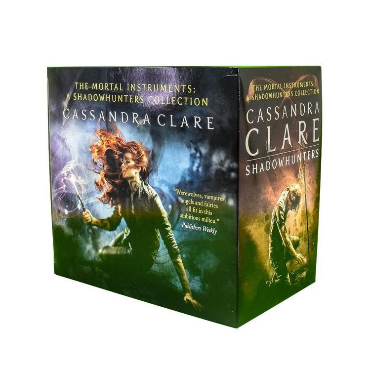The Mortal Instruments A Shadowhunters 7 Books Collection Set by Cassandra Clare