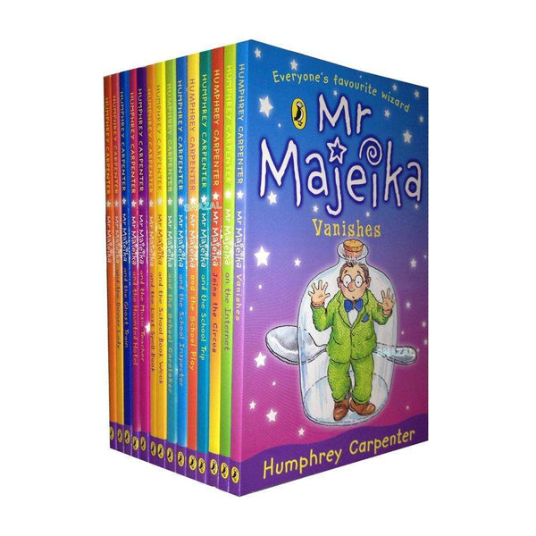 Mr Majeika Books Collection Humphrey Carpenter 14 Books Set